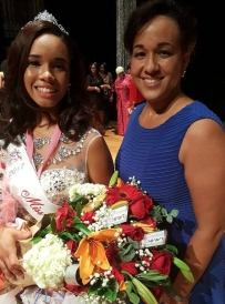 First Place- Teen Pageant and Mom
