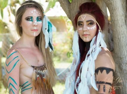 Models: Ali & Dayanna