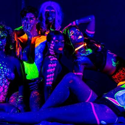 UV Body Paint Party